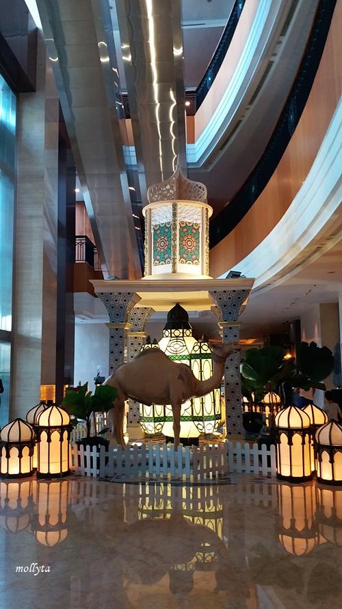 Dekorasi Ramadan di JW Marriott Hotel Medan