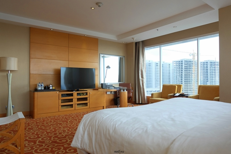View cantik dari kamar Executive Deluxe JW Marriott Hotel Medan