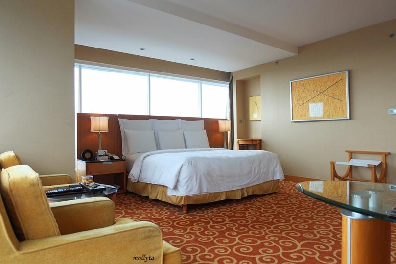 Tipe kamar Executive Deluxe JW Marriott Hotel Medan