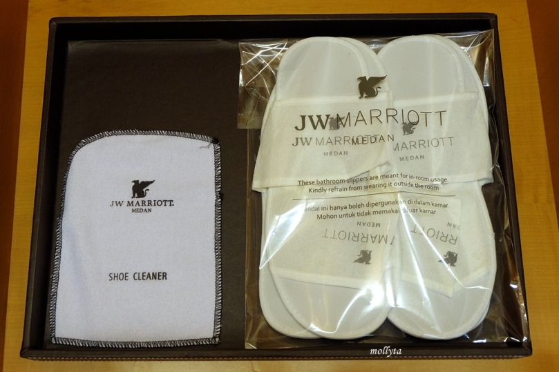 Amenities di JW Marriott Hotel Medan