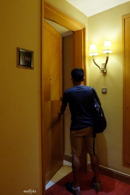 Kamar 2302 di JW Marriott Hotel Medan