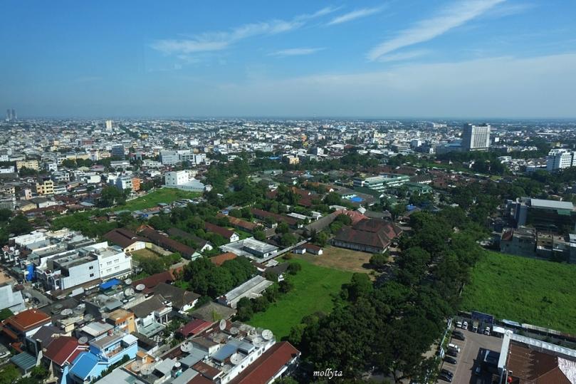 City view dari kamar di JW Marriott Hotel Medan