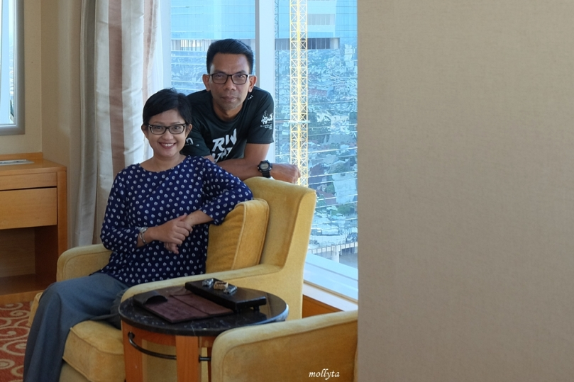 Bahagia staycation di JW Marriott Hotel Medan