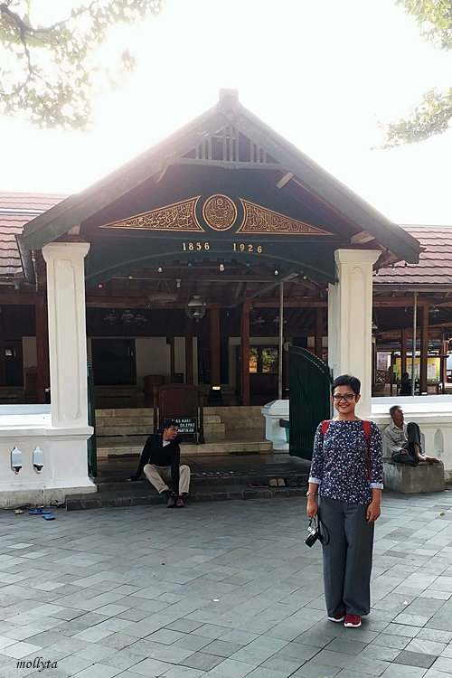 Serambi Masjid Besar Mataram Kotagede