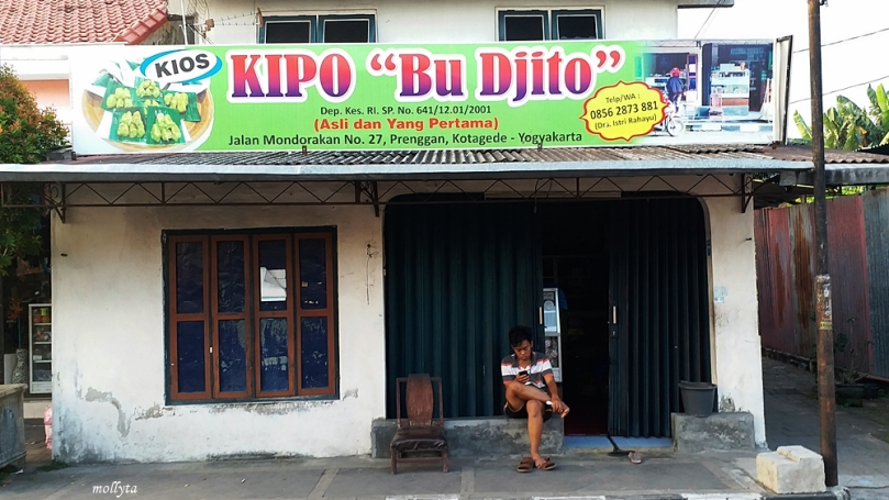 Warung Kipo Bu Djito Kotagede