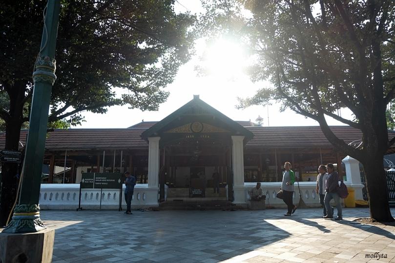 Sore di Masjid Besar Mataram Kotagede