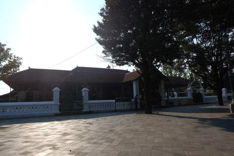 Halaman Masjid Gede Mataram