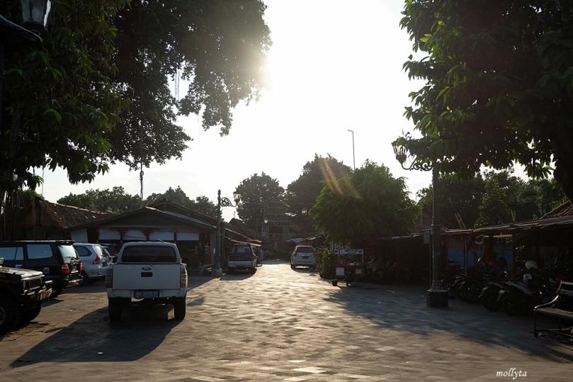 Halaman depan menuju Komplek Masjid Besar Mataram Kotagede