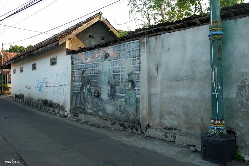 Jalan di Kotagede Yogyakarta