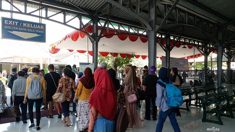 Stasiun Purwosari di Solo