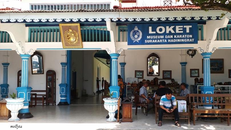 Loket museum Surakarta