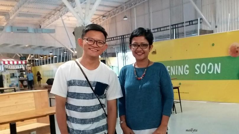Bertemu teman di Mall Solo Paragon