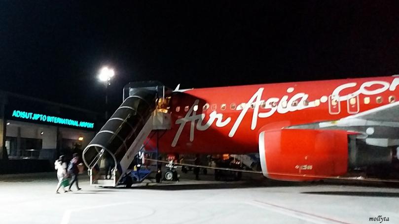 Air Asia dari Yogyakarta menuju Medan
