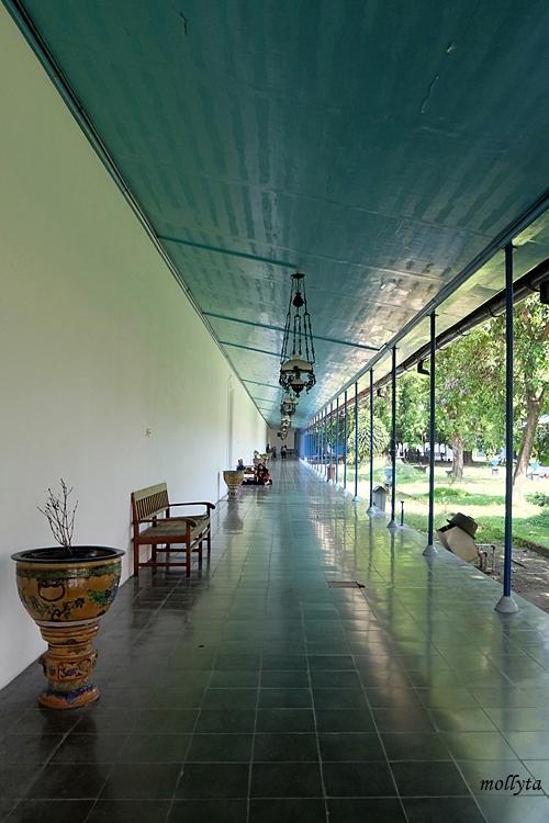 Lorong dalam Museum Keraton Surakarta