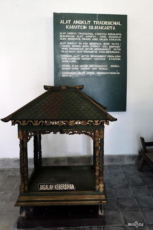 Alat angkut tradisional Keraton Surakarta