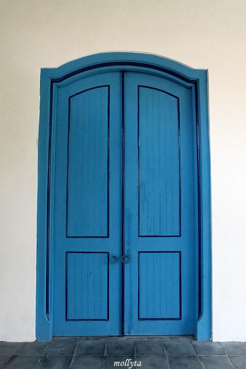 Pintu di Museum Keraton Surakarta