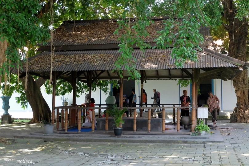 Sumber air dalam Museum Keraton Surakarta