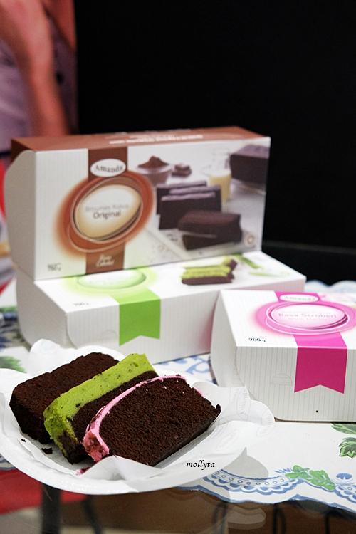 Paket pink Amanda Brow dari Brownies Amanda di Medan