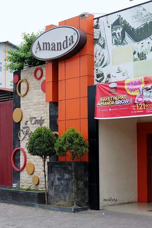 Outlet Amanda Brownies di Medan