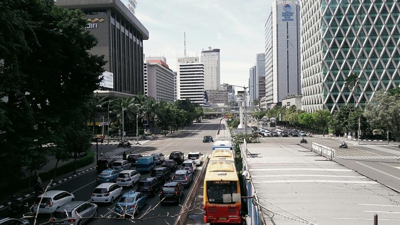 Kemacetan di kota Jakarta