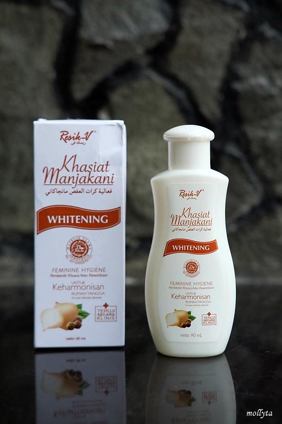 Produk Resik-V Manjakani Whitening bagi para istri