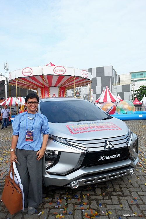 Satu dari spot menarik di Mitsubishi XPANDER Plaza Medan Fair