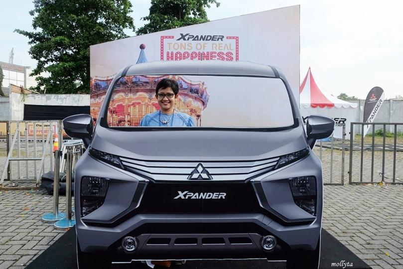 Spot menarik di acara Mitsubishi XPANDER Plaza Medan Fair