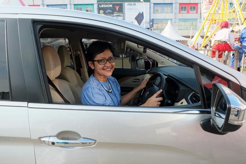 Test drive mobil Mitsubishi XPANDER di Medan