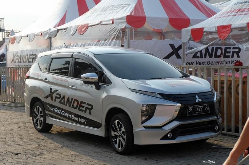 Test drive Mitsubishi XPANDER Exceed di Medan