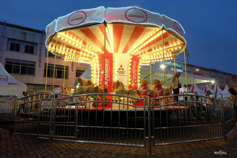 Carousel di acara Mitsubishi XPANDER Plaza Medan Fair