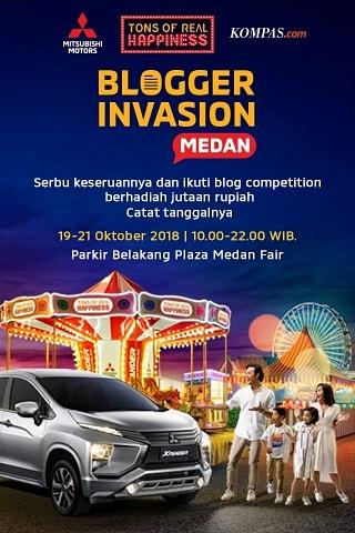 Blogger Invasion Medan bersama Mitsubishi XPANDER