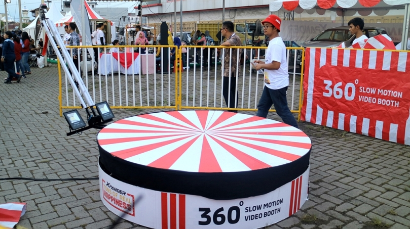 360 Photobooth Mitsubishi XPANDER Plaza Medan Fair