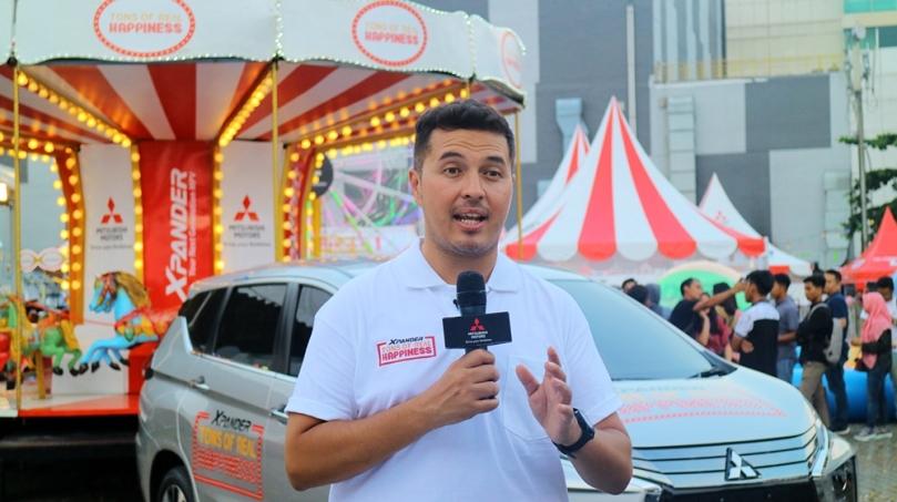 Rifat Sungkar di eevent Mitsubishi XPANDER Medan