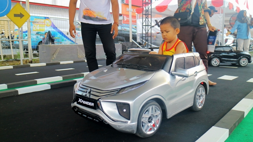 Mini XPANDER Traffic Park di Plaza Medan Fair