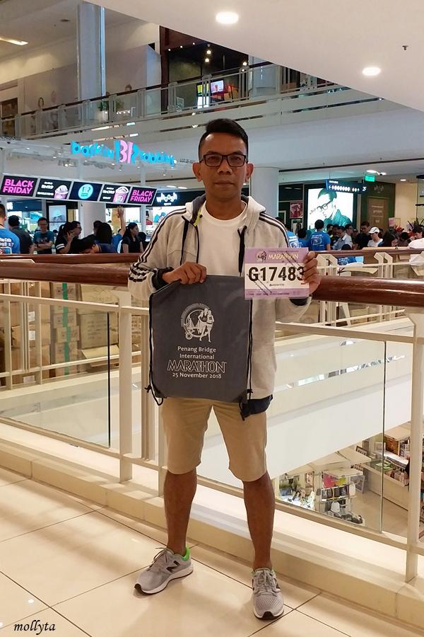 Race Pack Penang Bridge International Marathon 2018