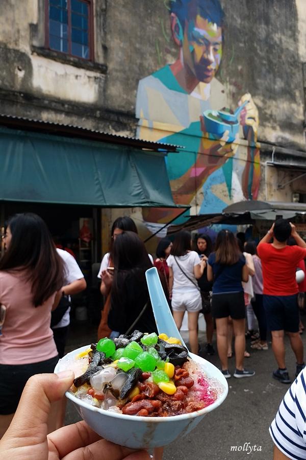 Ice Kacang di Penang Road Famous Teochew Chendul