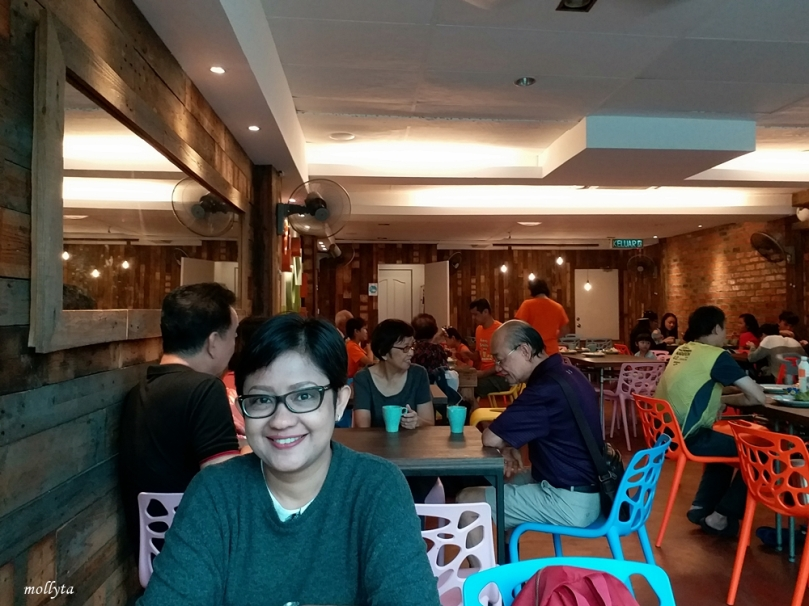 Suasana sarapan di Super 8 Hotel Penang