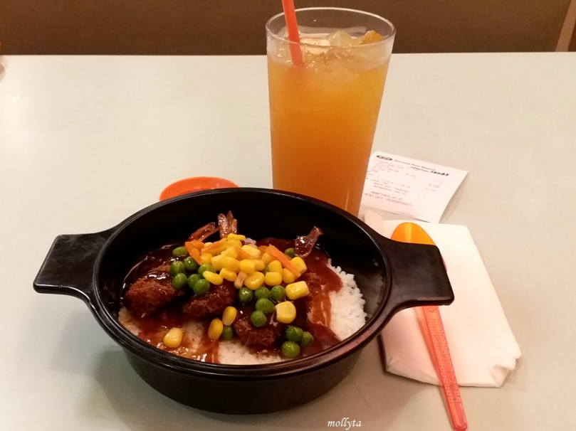 Paket Asian Prawn Mixbowl A&W