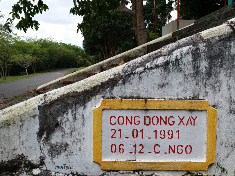 Pemakaman pengungsi Vietnam Galang