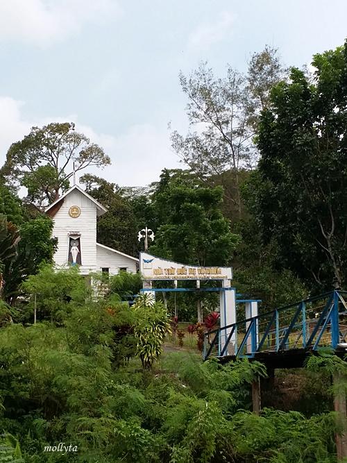 Gereja Katolik eks pengungsi Vietnam