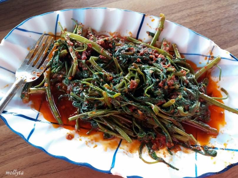 Tumis kangkung di Restoran Kopak Jaya 007