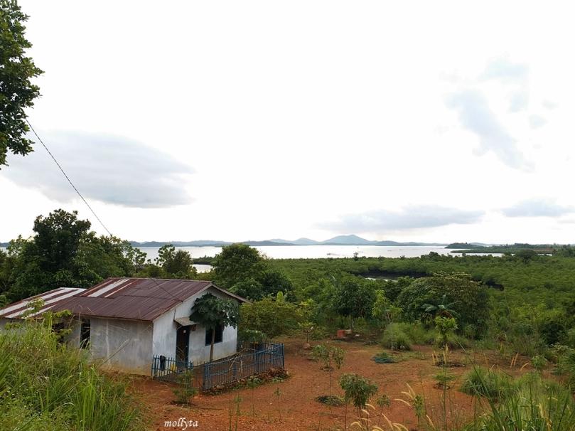 Pemandangan di Kampung Tua Tiang Wangkang