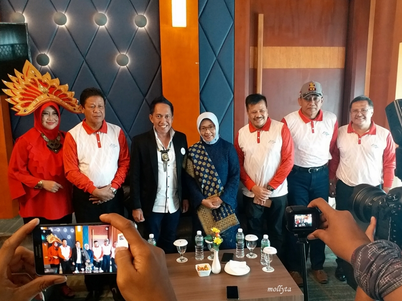 Press Conference Batam International Culture Carnival 2018