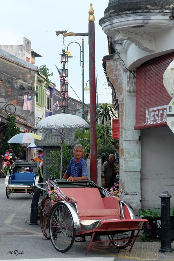 Becak di Penang
