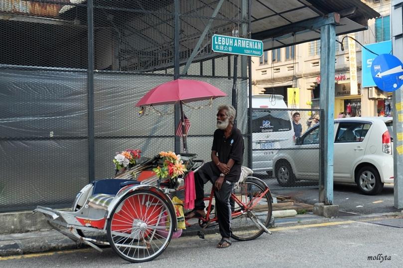 Lebuh Armenian di Penang