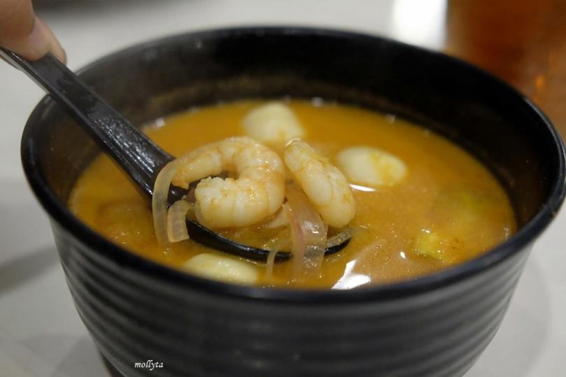 Tom Yum seafood di Penang