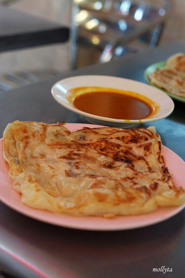 Roti canai di Penang