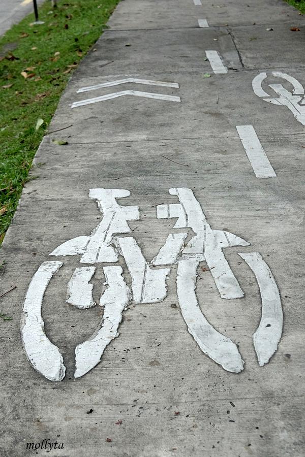 Jalur sepeda di Penang