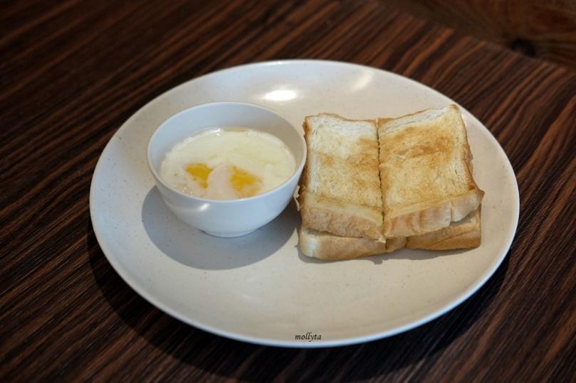 Menu sarapan di Super 8 Hotel Penang