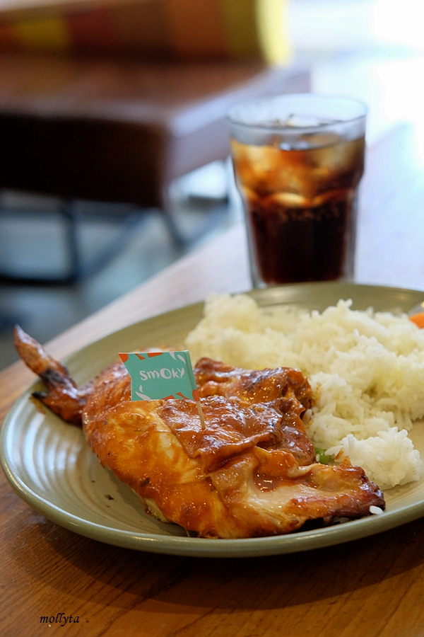 Paket ayam Nandos di Penang